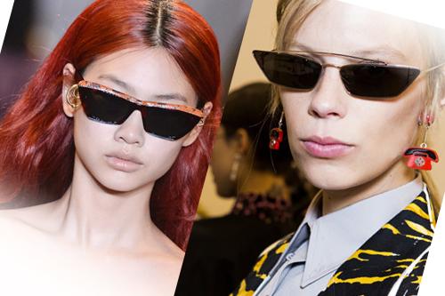 Тренд сезону  футуристичні окуляри —